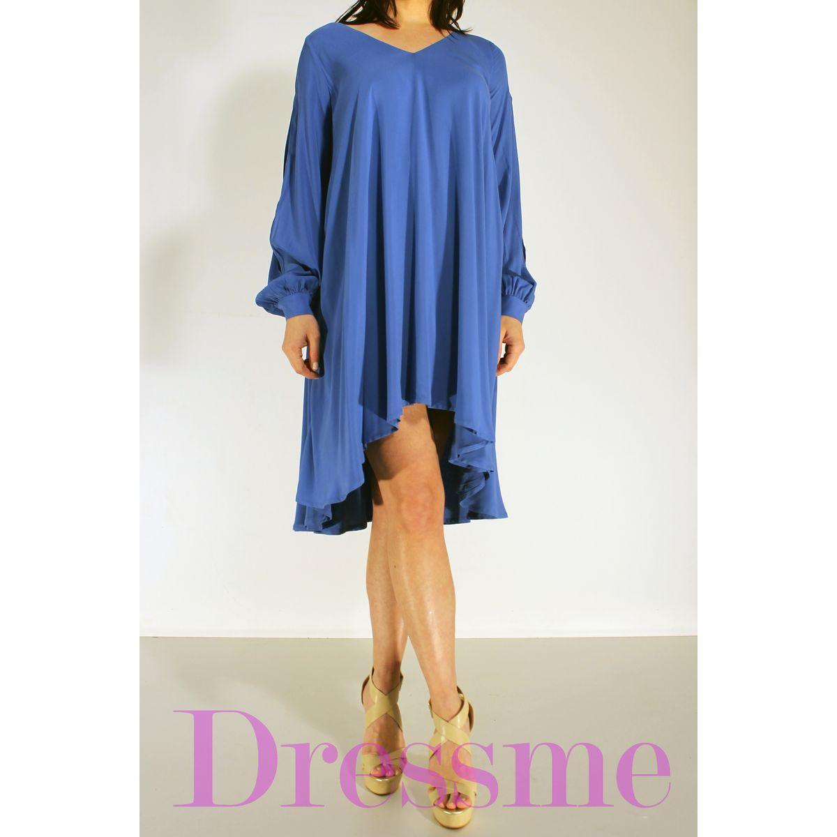 ab10beaa66d4 Φόρεμα κοντό μπροστά μακρύ πίσω - Dressme