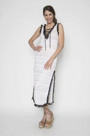 Φόρεμα καλοκαιρινό με πον-πον