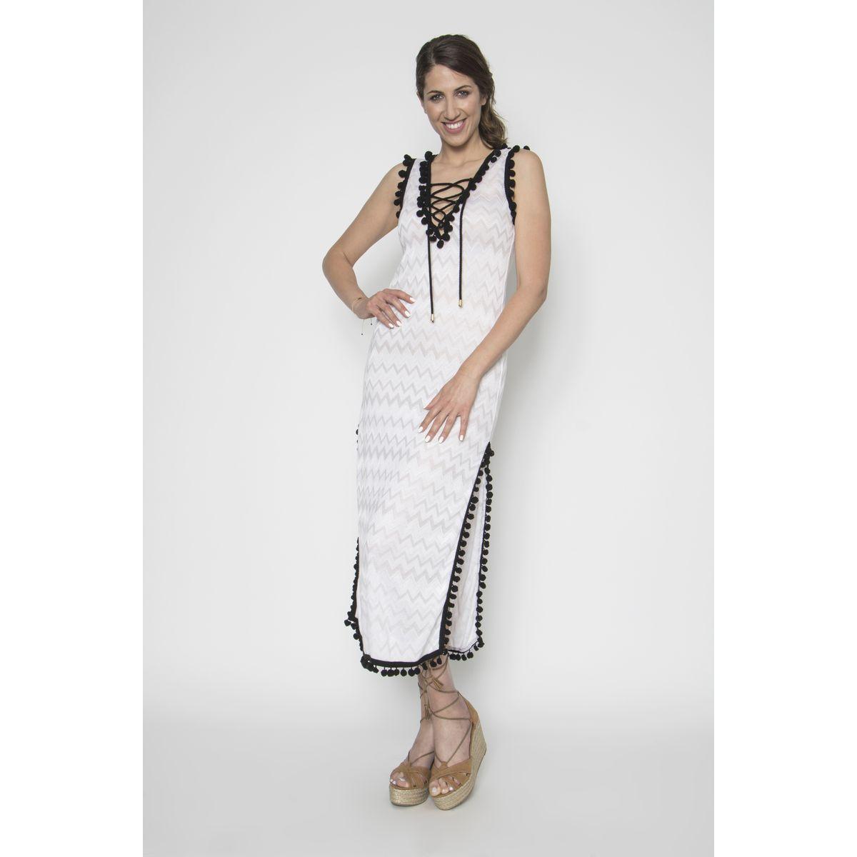 180e85822071 Φόρεμα καλοκαιρινό με πον-πον - Dressme