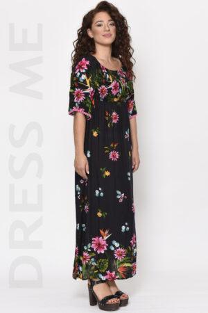 Φορέματα μακριά καθημερινά εμπριμέ καλοκαιρινά