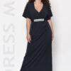 Φόρεμα ελαστικό με δαντέλα στην ζώνη