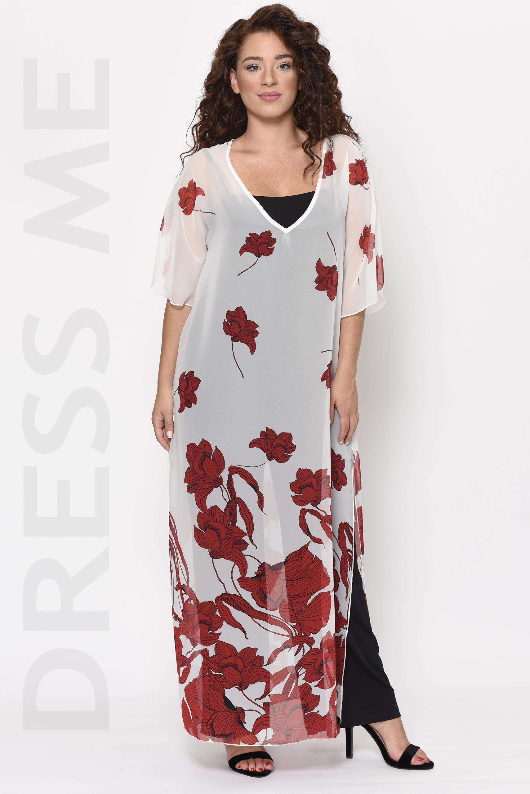 Ολόσωμη φόρμα με φλοράλ τουνίκ μουσελίνα_02