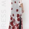 Ολόσωμη φόρμα με φλοράλ τουνίκ μουσελίνα